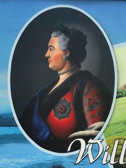 Katharina die Große Portrait