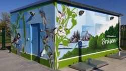 Gestaltung einer Pumpstation für Heidewasser GmbH