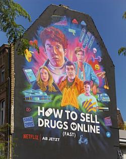 Mural für Netflix
