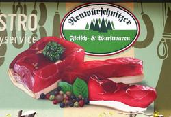 Werbegestaltung Firma Neuwürschnitzer Fleisch und Wurstwaren AG / Erzgebirge
