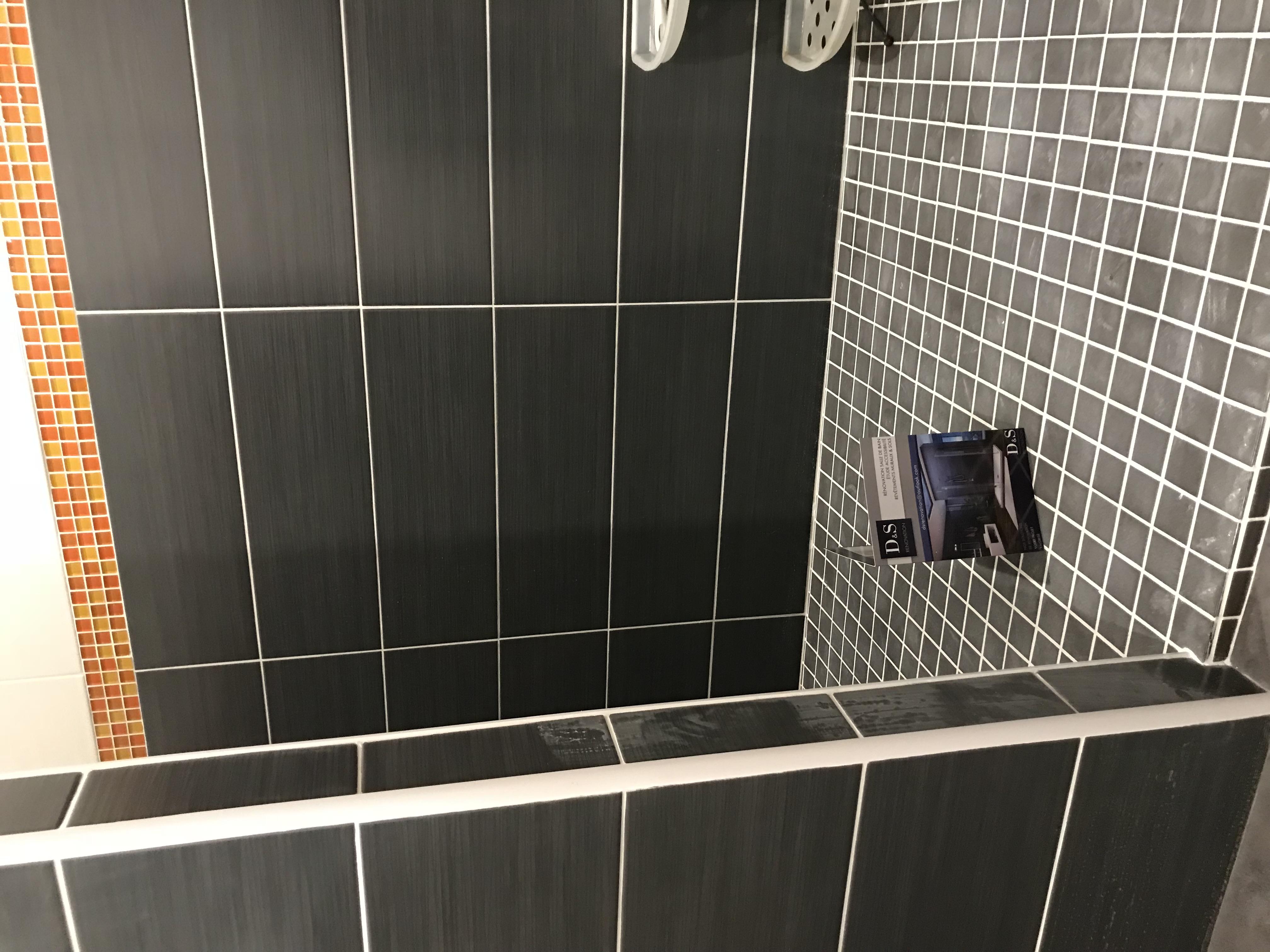 Salle de bain LA NERO ANRANCIO