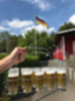 Burschenschaft Arriva 76 Kirmes Bier Körbchen