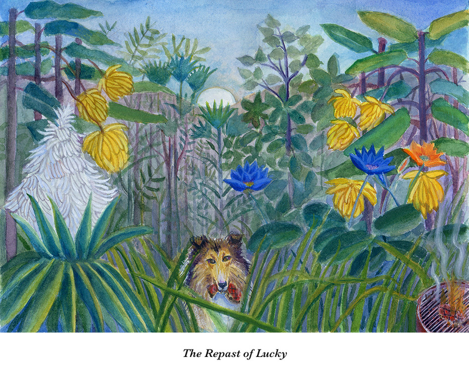 The Repast of Lucky