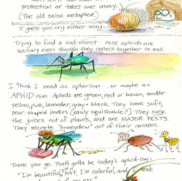 an aphid metaphor