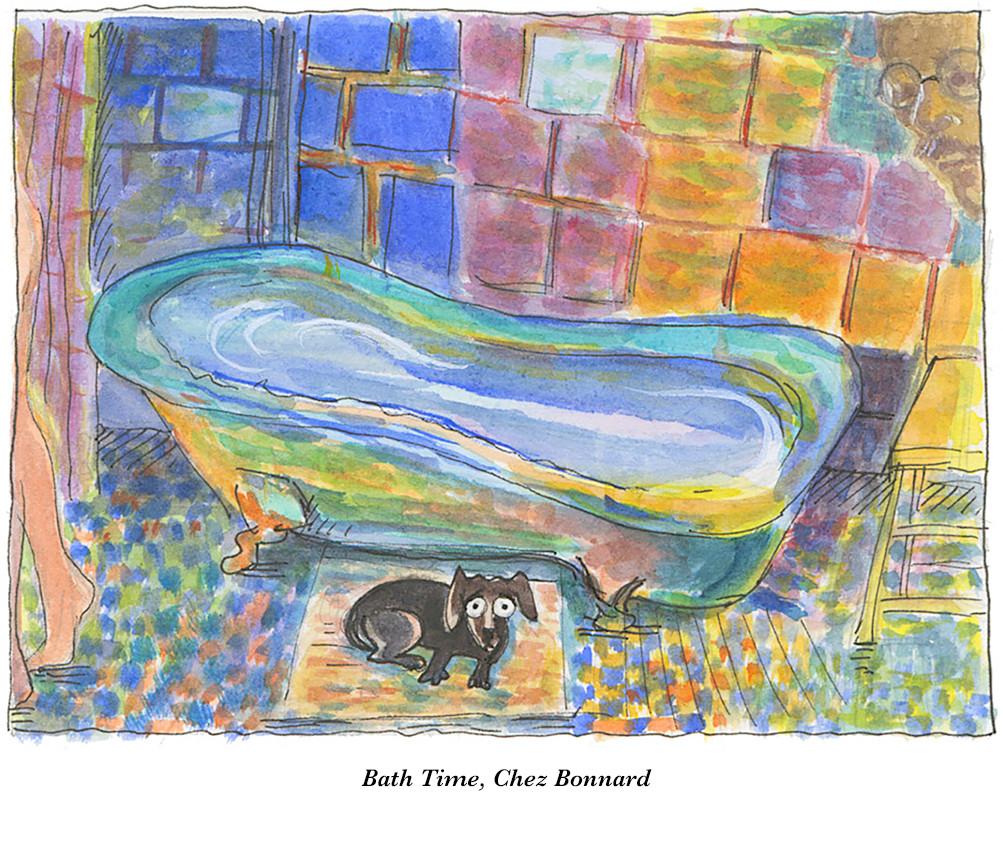 Bath Time Chez Bonnard