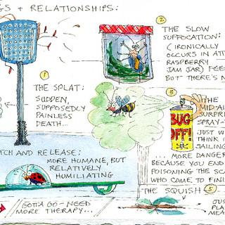 bugs & relationships