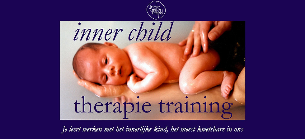 Je innerlijk Kind helen tijdens de Inner Child Therapie training