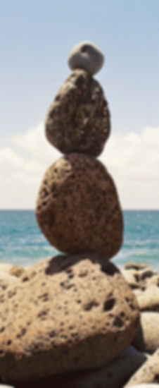 Familieopstellingen laten je een nieuwe balans vinden net zoals de stenen