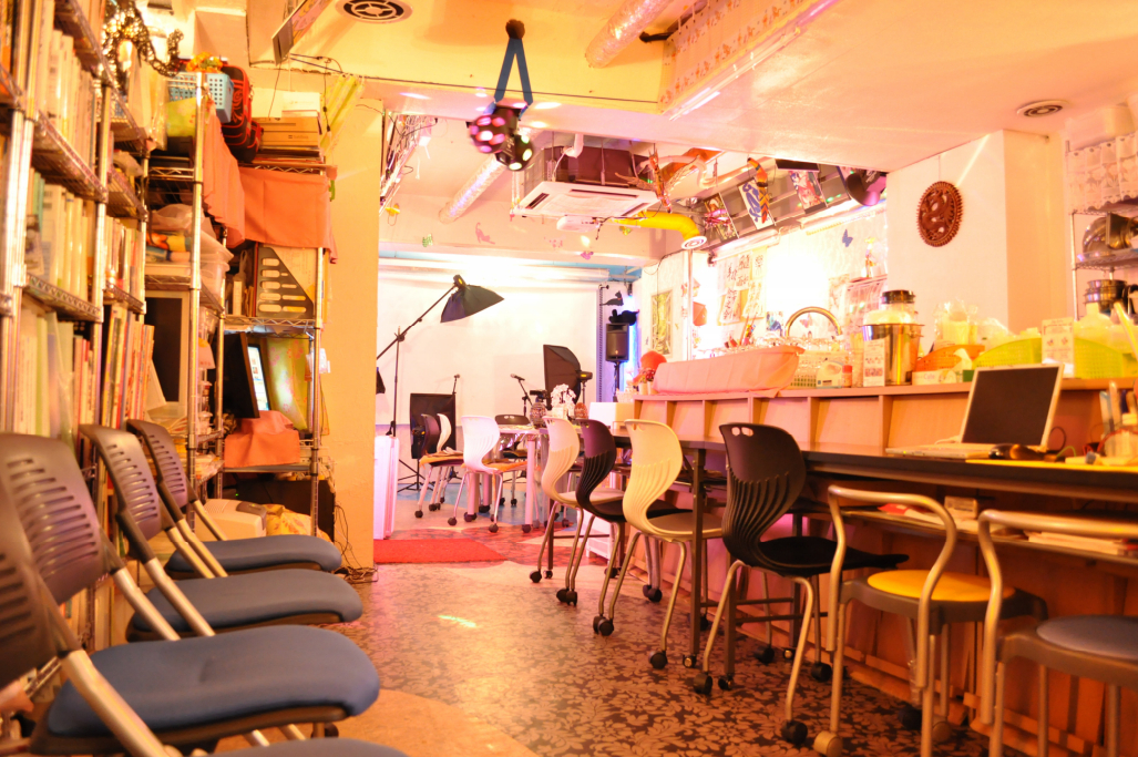 秋葉原レンタルスペースの店内写真