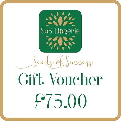 £75.00 Gift Voucher