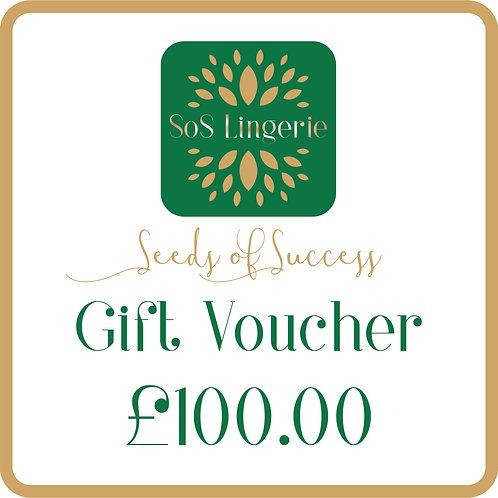 £100.00 Gift Voucher