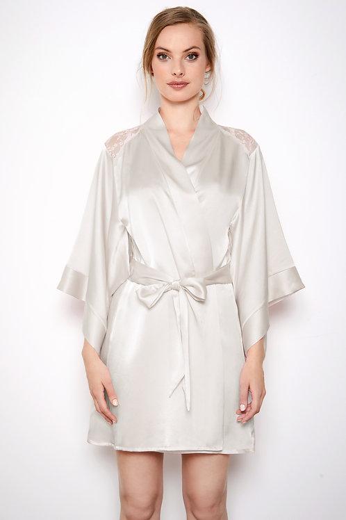 Katherine Hamilton Sophia Ivory Robe
