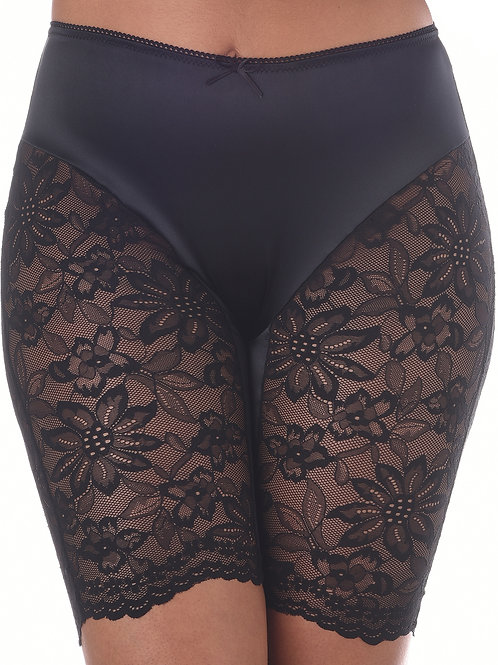 Bloomin Sexy Romance Lace Shorts – Black