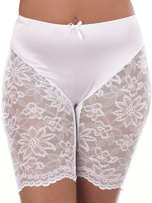 Bloomin Sexy Romance Lace Shorts – White