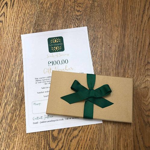 Gift Voucher with Presentation Box