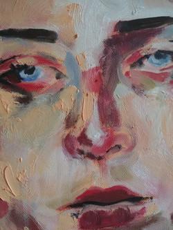 Indifferent Self Portrait