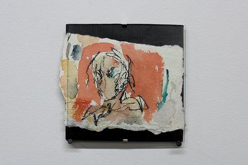 Framed Watercolor Sketch