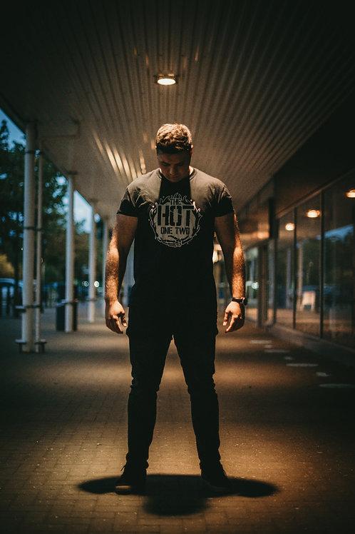 The Hot One Two Black Alt-Print T-Shirt
