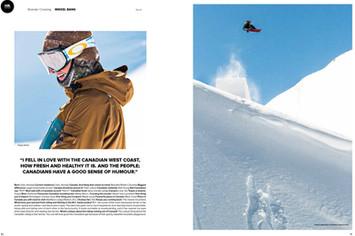 Snowboard Canada x Mikkel Bang