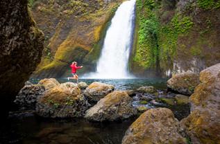 Chasing Waterfalls x Caley Vanular