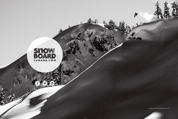 Snowboard Canada x Chris Rasman