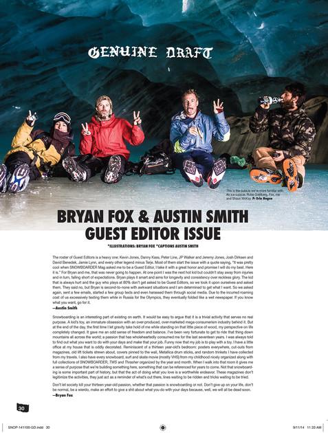 Snowboarder Mag x Drink Water