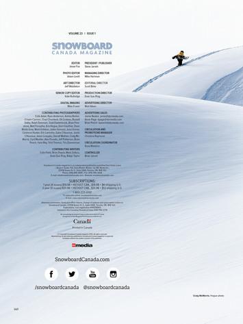 Snowboard Canada x Craig McMorris