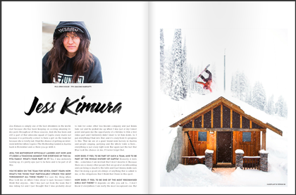 Prime Snowboarding x Jess Kimura