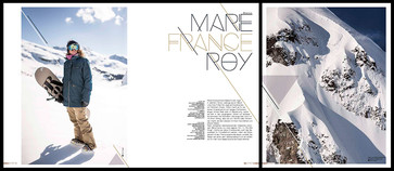 Golden Ride x Marie France Roy