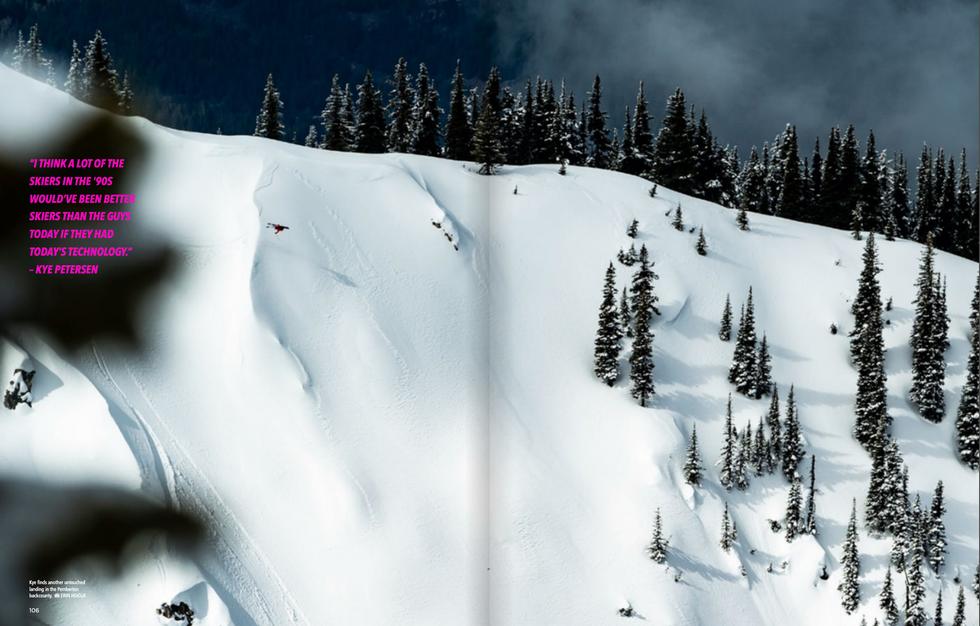 Mountain Life Mag  x  Kye Petersen