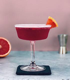 hibiscus margarita cocktail