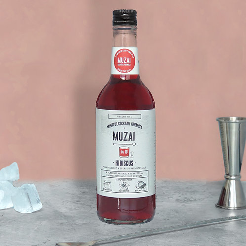 HIBISCUS COCKTAIL MIXER (500ML)