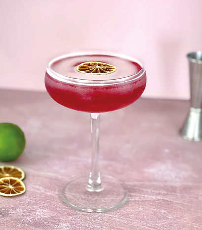 hibiscus cosmopolitan cocktail