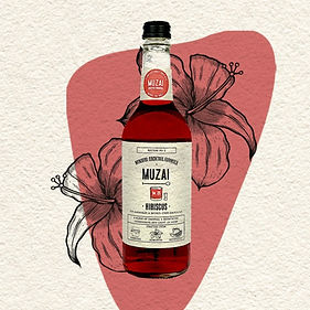 Hibiscus cocktail mixer