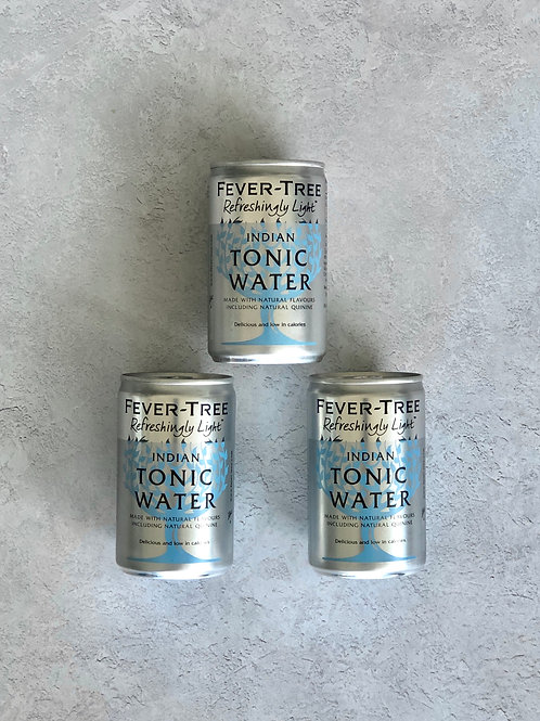Fever-Tree Light Tonic Water -3x 150ml