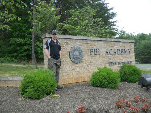 FBI entrance