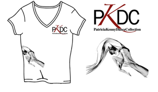 PKDC White V-Neck T-Shirt