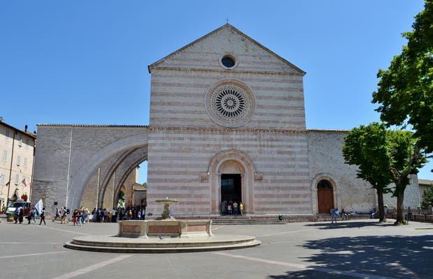 Basilica de santa Clara em Assis