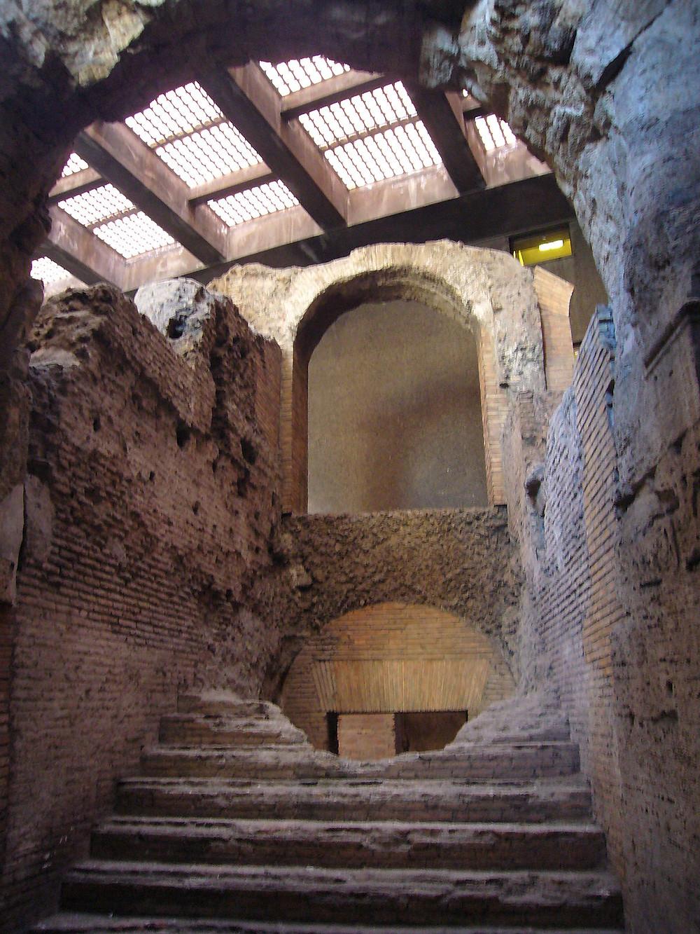 ruinas do estadio domiciano em roma