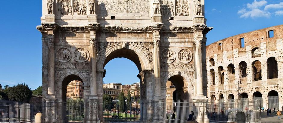 O Glorioso Arco de Constantino