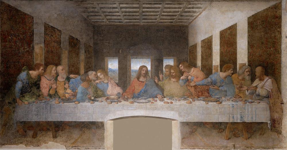 Santa Ceia de Leonardo da Vinci