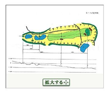 茶臼山ゴルフ倶楽部 8番ホール