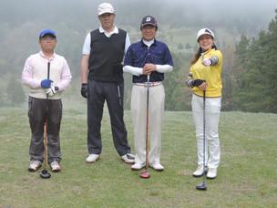 茶臼山GC 年齢別月例杯 開催しました。