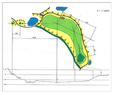 茶臼山ゴルフ倶楽部 18番ホール