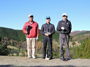 茶臼山GC 11月 月例杯