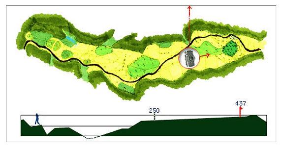 ブナの嶺ゴルフ倶楽部 3番ホール