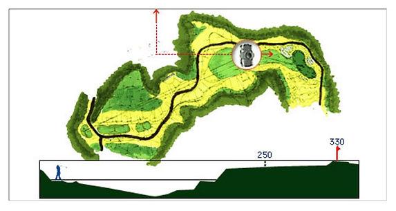 ブナの嶺ゴルフ倶楽部 12番ホール