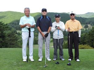 茶臼山GC 8月年齢別月例杯