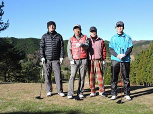 茶臼山GC グランドマンスリー競技&ラストコール杯