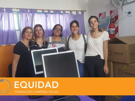 DONACIÓN JUNTO A NESTLÉ A ESCUELAS DE MORENO
